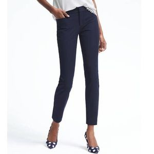Banana republic Sloan skinny fit ankle pants navy